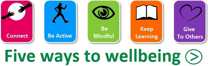 Link to page describing five ways to wellbeing